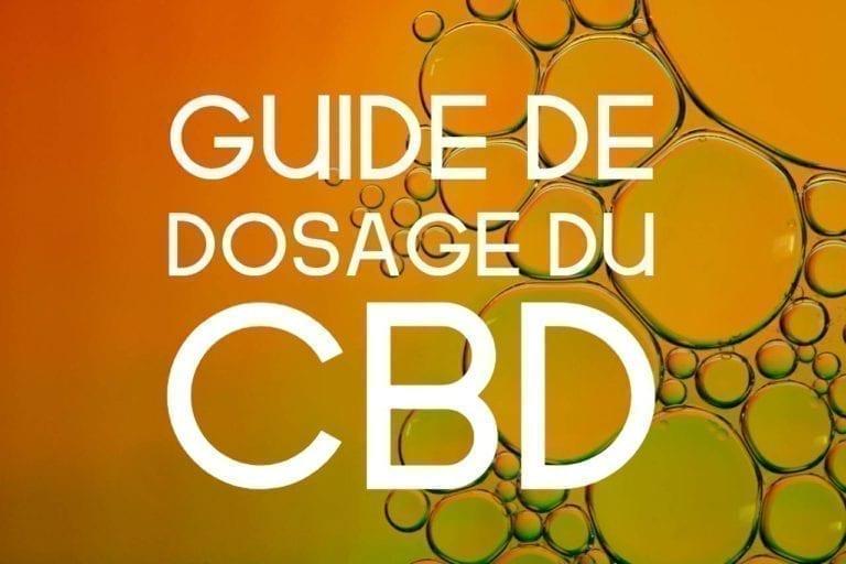 guide de dosage du cbd