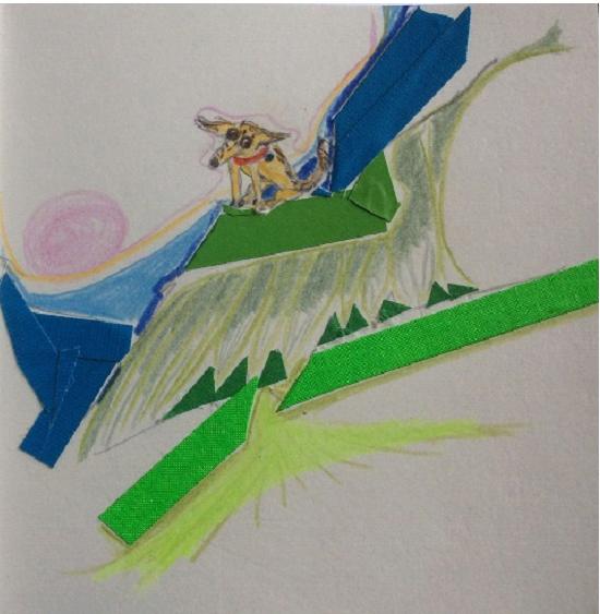 dessin d'un chien