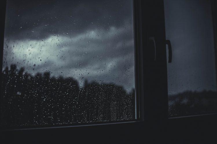 fenetre gouttes de pluie