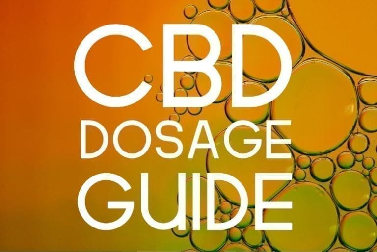 cbd dosage guide