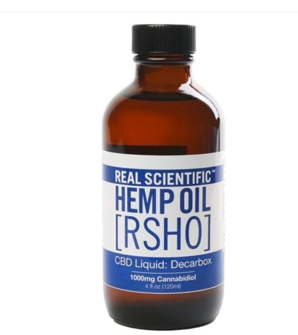 Real Scientific Hemp Oil CBD