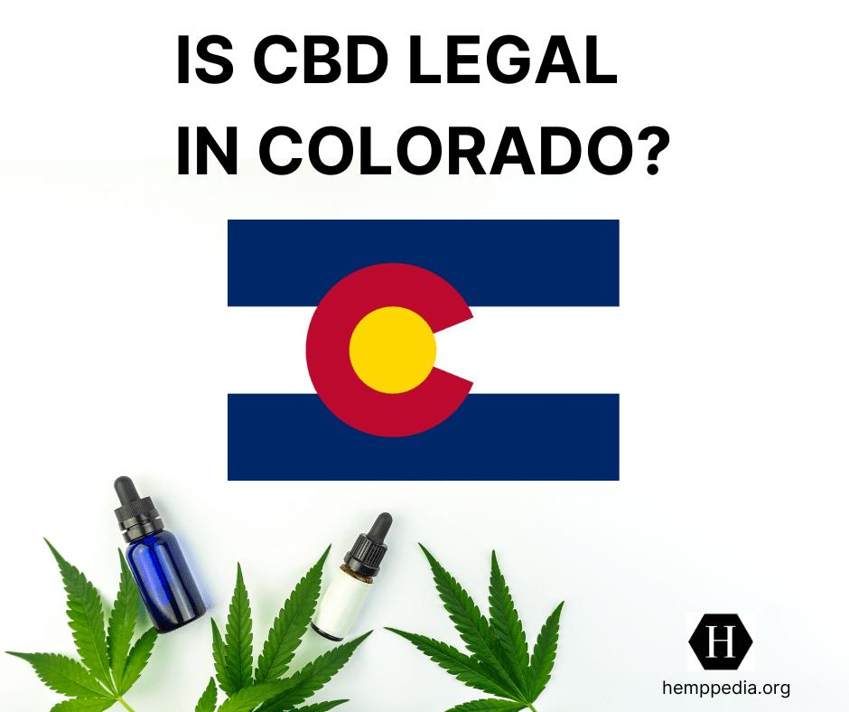 Es el CBD legal en Colorado