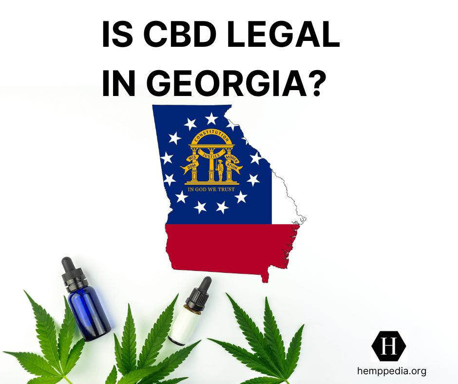 Is CBD legal in Georgia