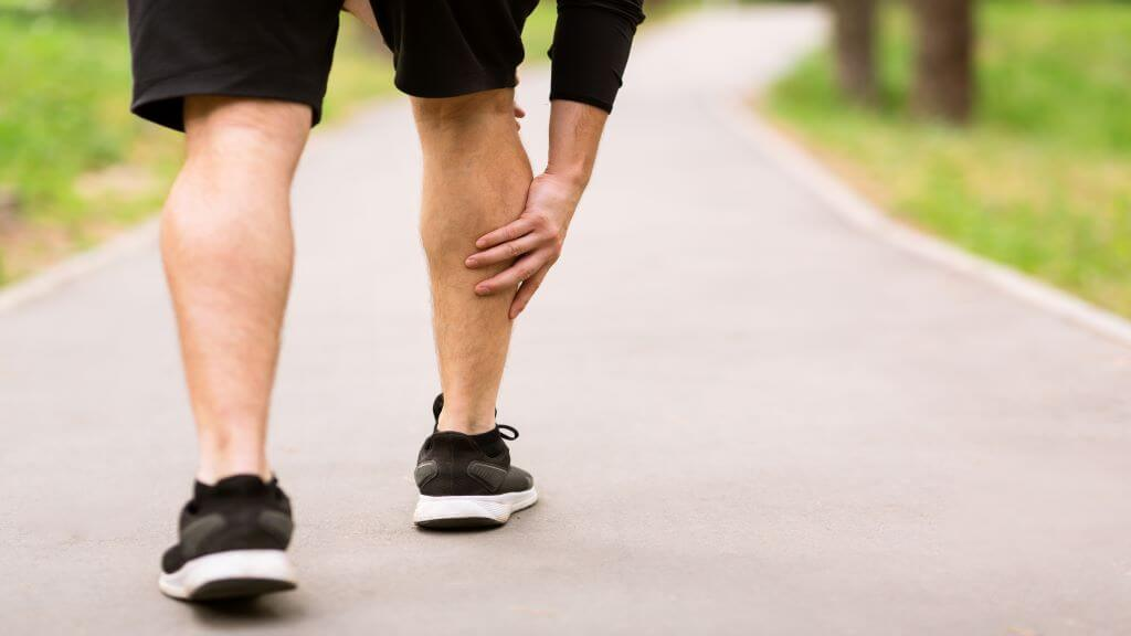 Calf muscle pain 1