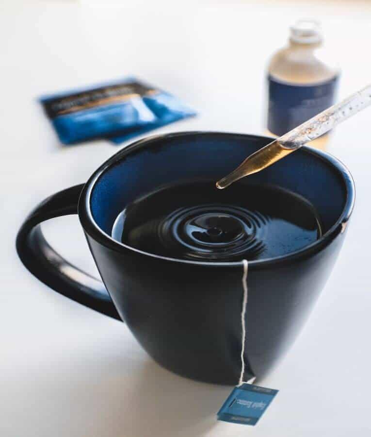CBD oil in Tea